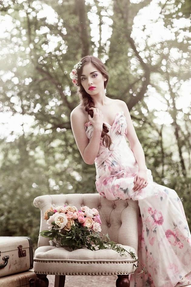 vestido novia campestre