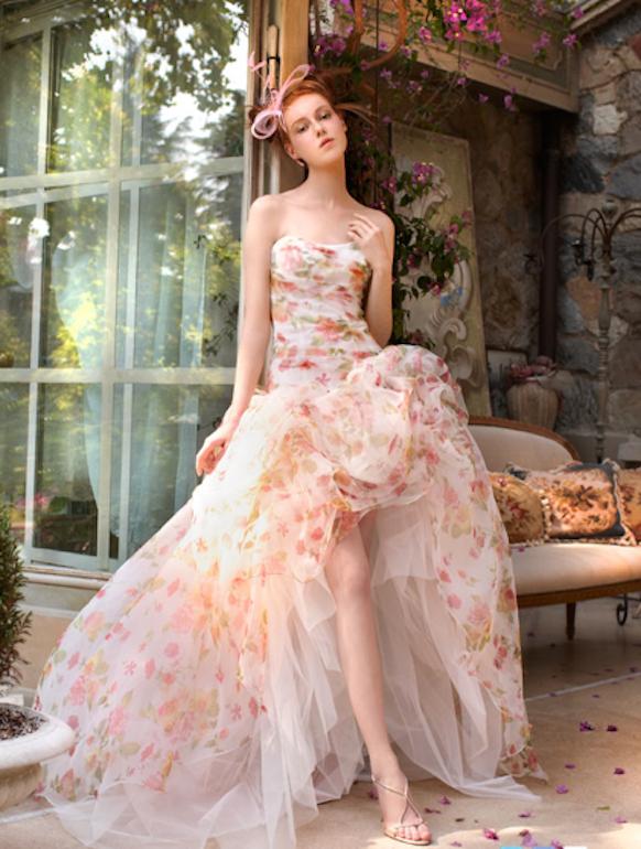 vestido novia original