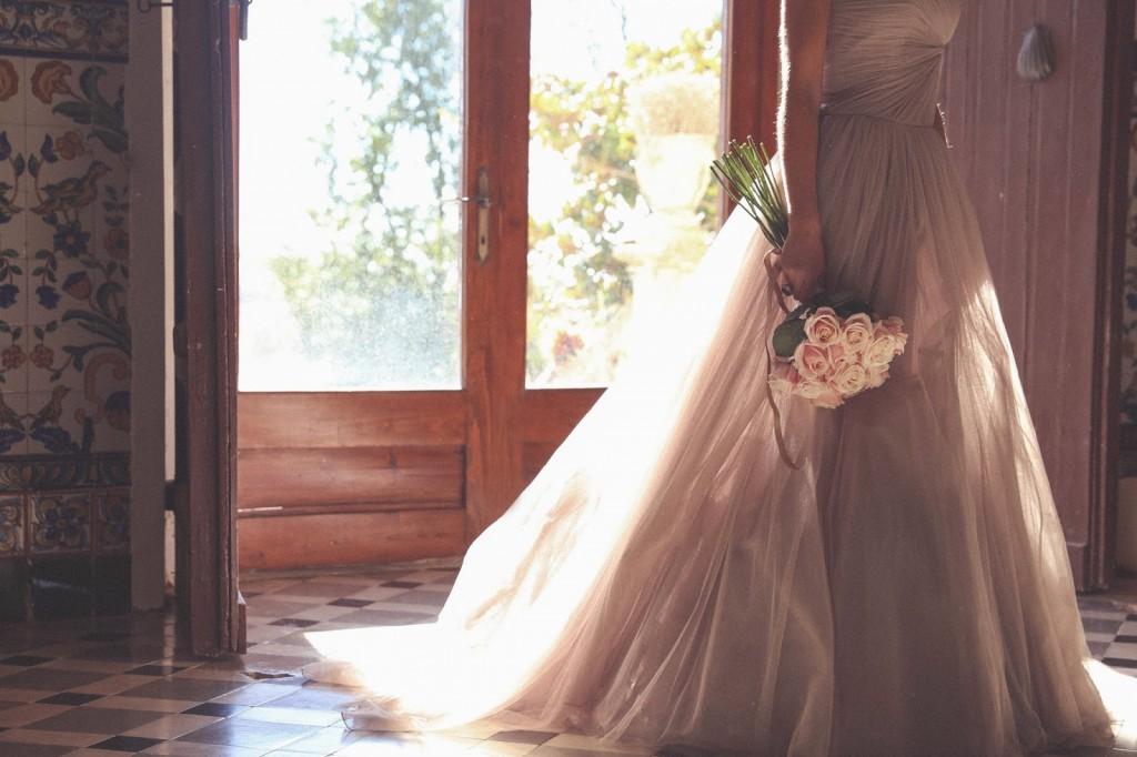ramo novia rosas rosas
