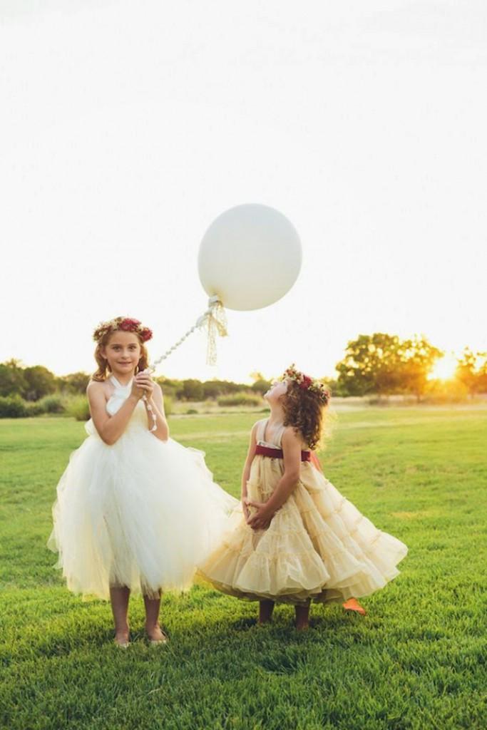 niñas arras boda
