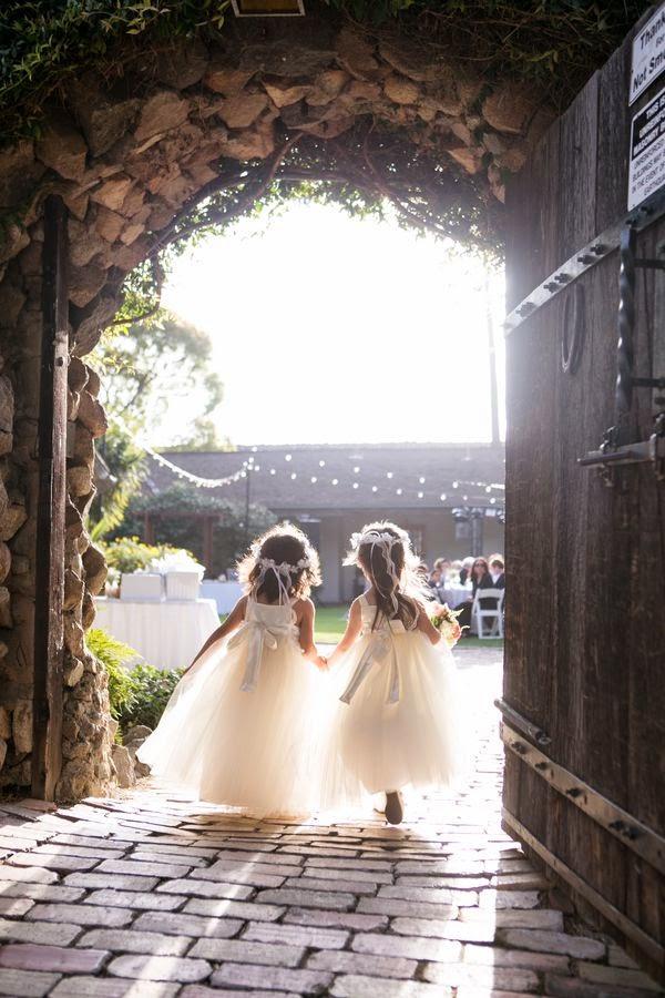 vestido tul niñas boda