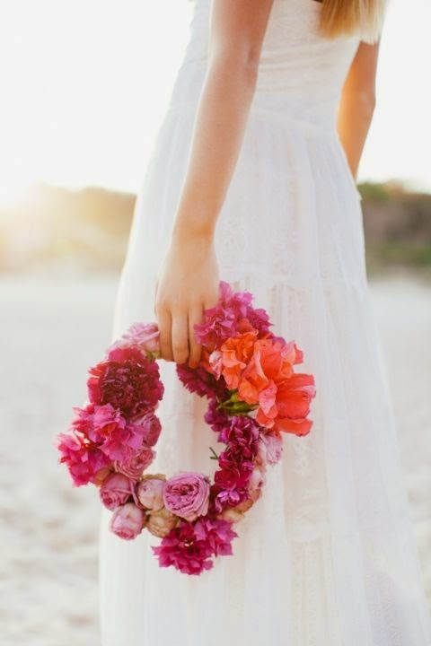 ramo novia bolso
