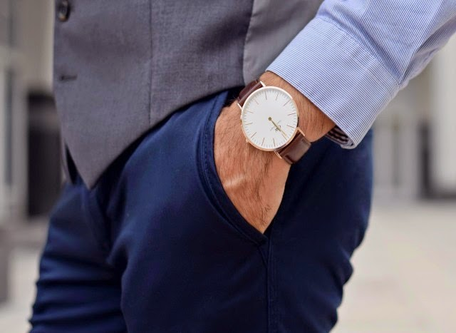 reloj hombre daniel wellington