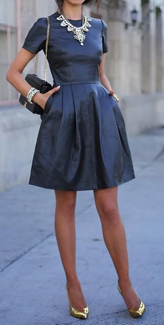 vestido sobrio pedida de mano
