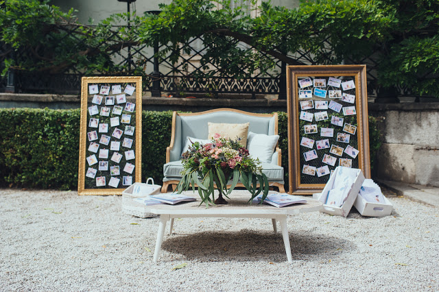 deco vintage wedding