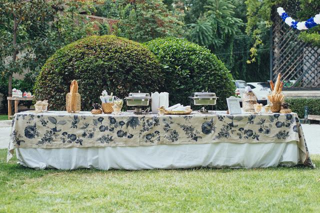 buffet quesos boda