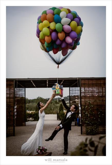 boda inspirada pelicula up presume de boda