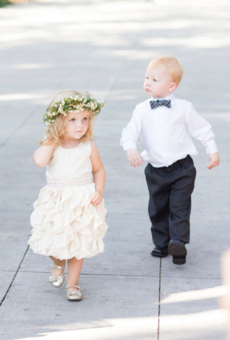 corona bebe boda
