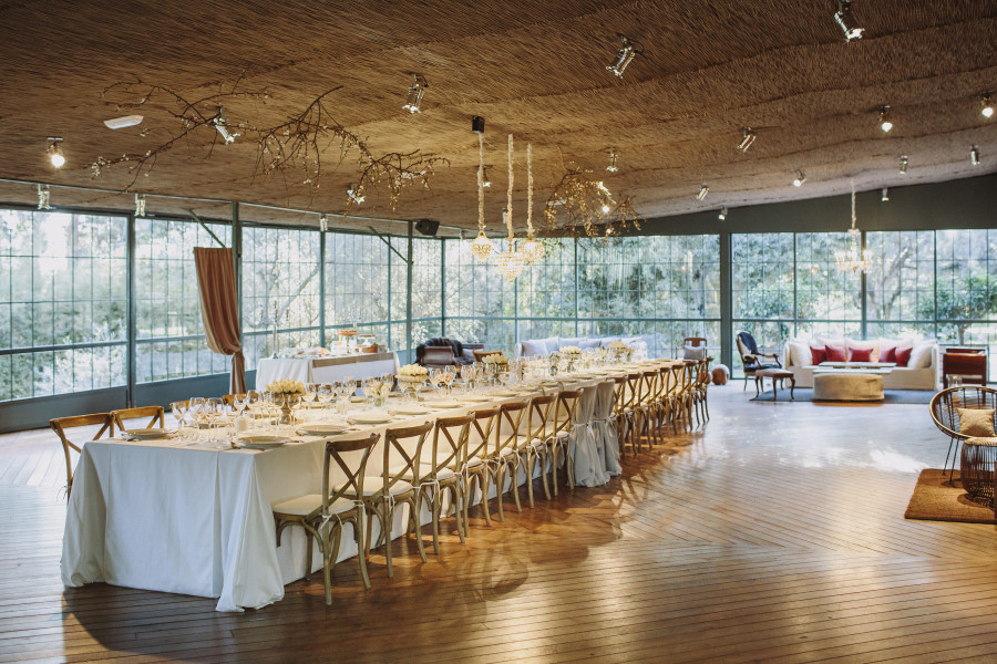 mesa larga bodas