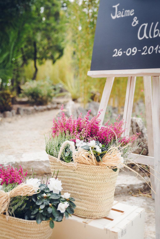 decoracion handmade exterior boda