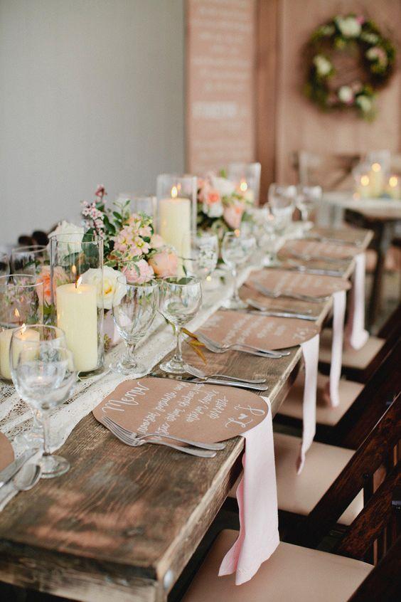 tendencia mesa boda sin mantel