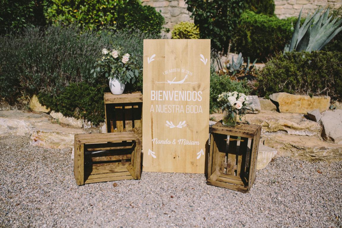 maderas mensajes boda the summer love