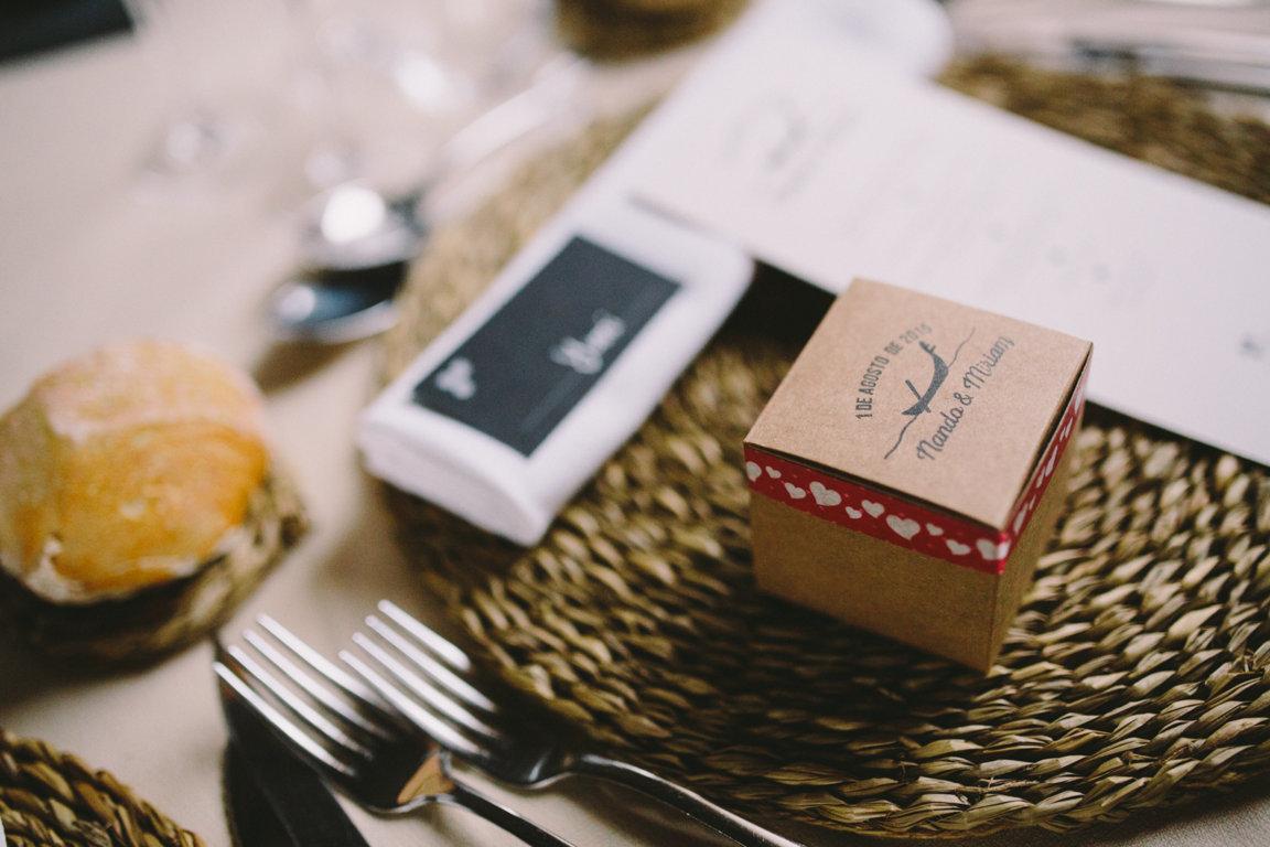 regalo anillos de papel invitadas