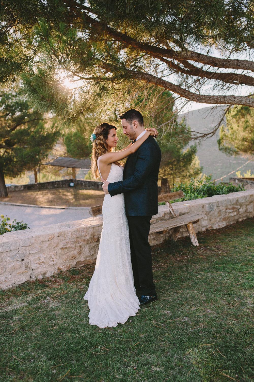 nando y miriam, boda rustica al aire libre