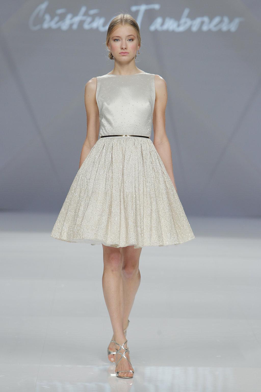 vestido corto invitada boda cristina tamborero