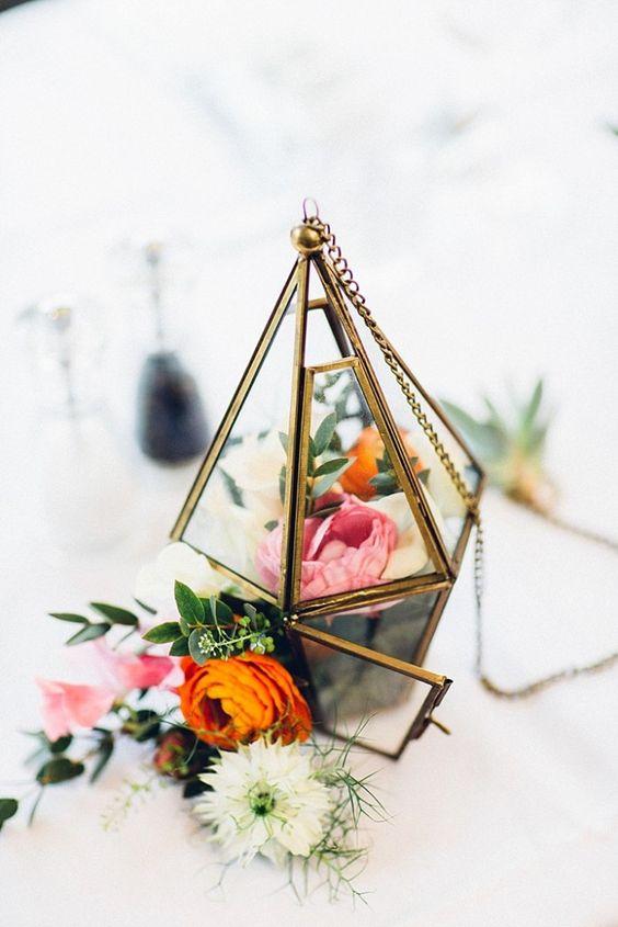 centros de mesa boda rustic