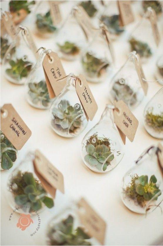 detalles invitados terrarios boda