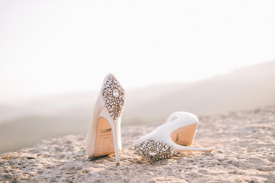 shoes badgley mischka kiara ivory