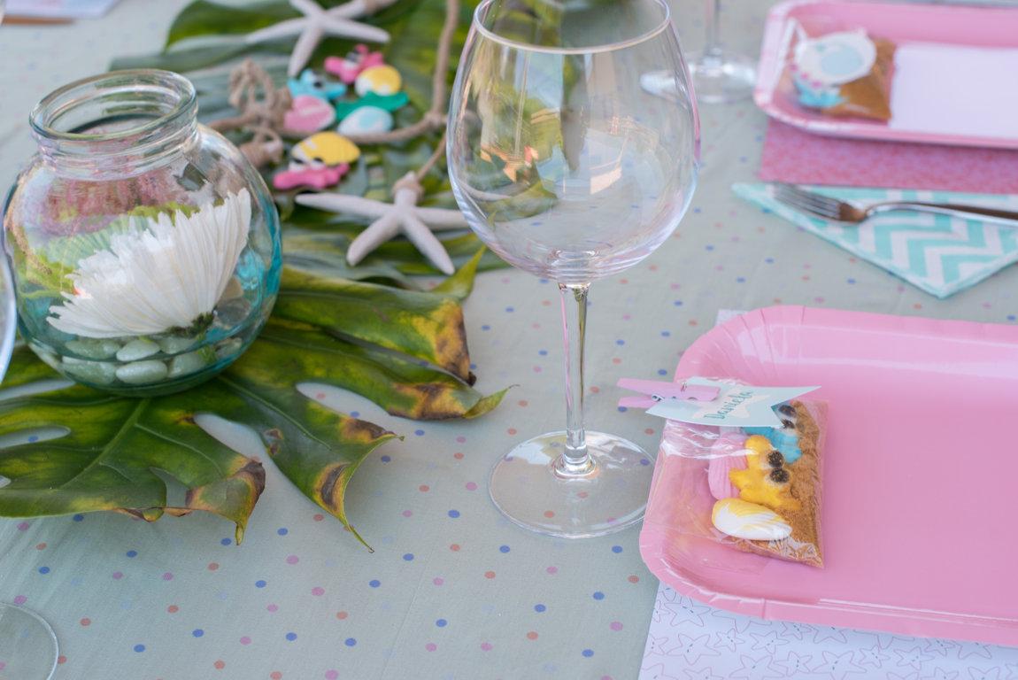 mesa decorada centros terrarios