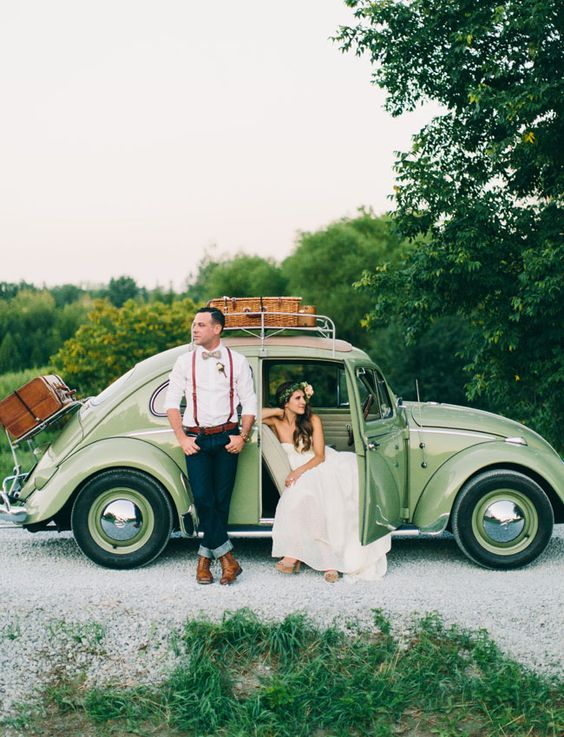escarabajo coche de bodas drivy