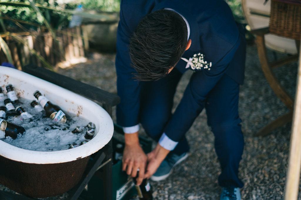 cervezas frias en tu boda