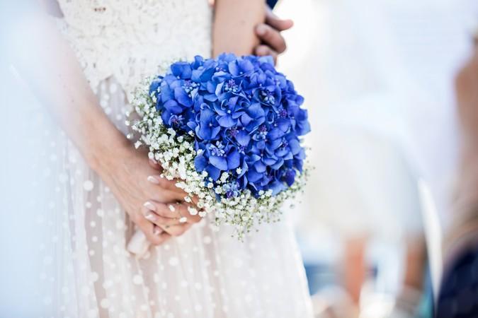 ramo novia hortensias y paniculata