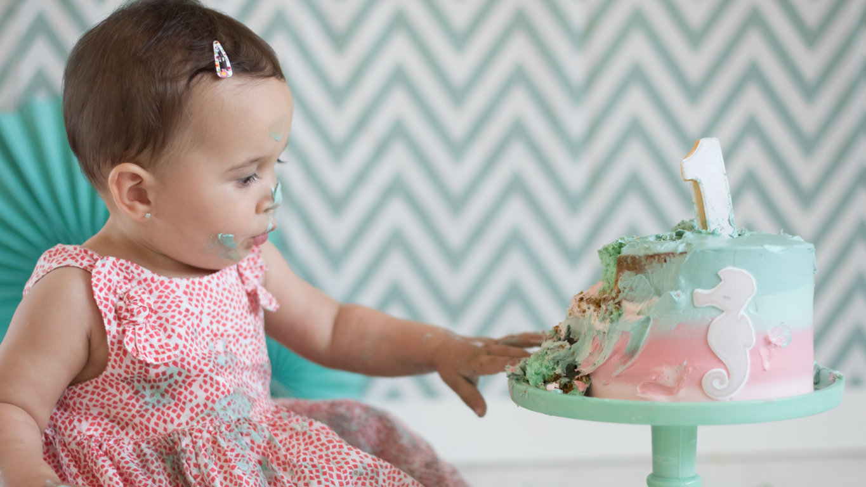 smash the cake Daniela la camara de lunares