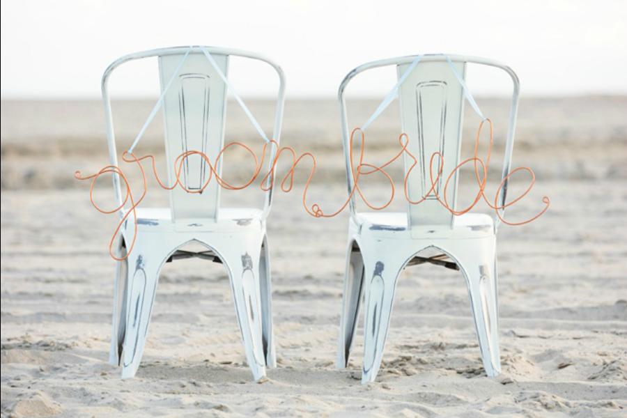 diy tutorial boda sillas personalizadas
