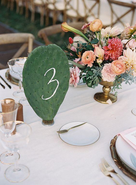 numeros mesa originales boda