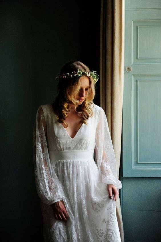 vestido boho novia