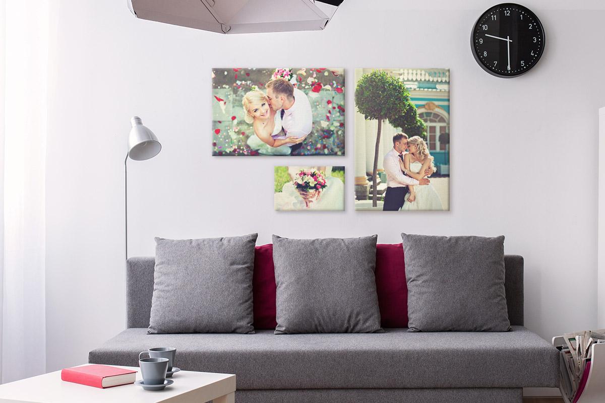 decoracion fotos boda