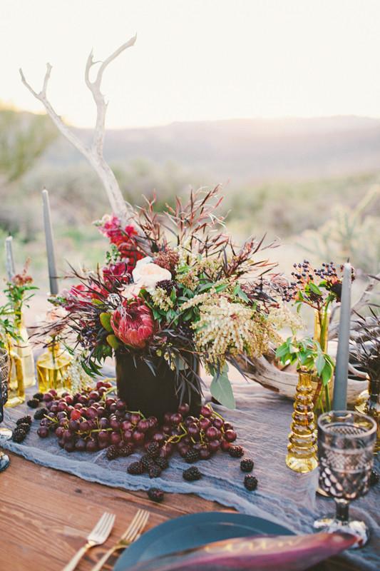 decoracion boda elementos naturaleza