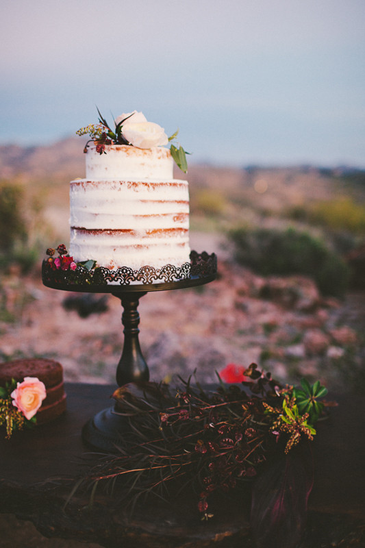 pastel de bodas naked cake