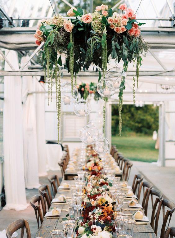 plantas colgantes boda