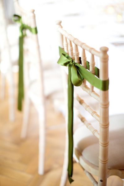 decoracion sillas boda greenery pantone 2017