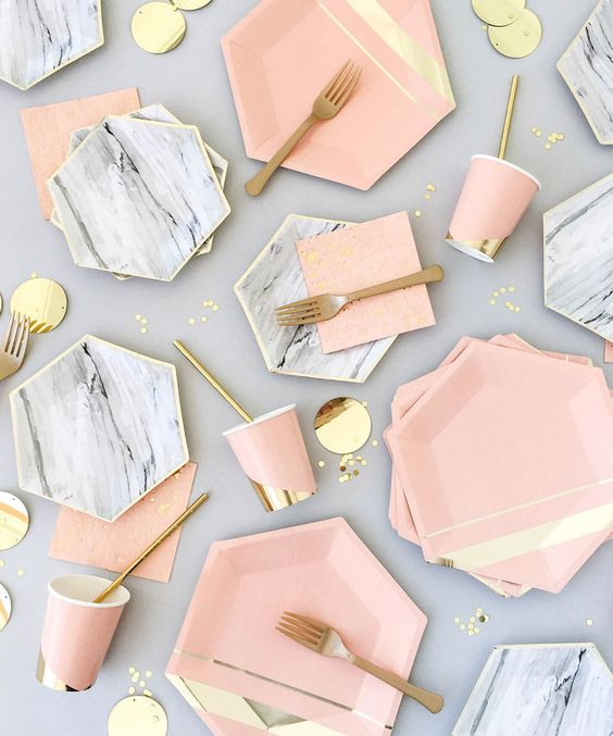 inspiracion marmol fiesta boda