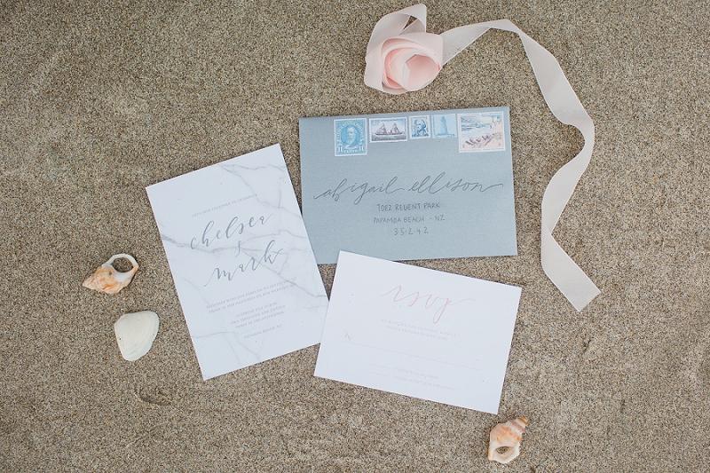 invitaciones boda marmol