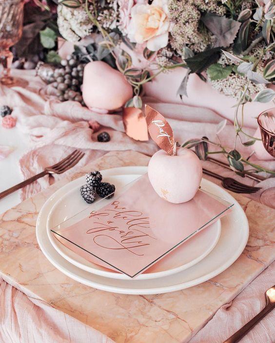 mesa marmol boda