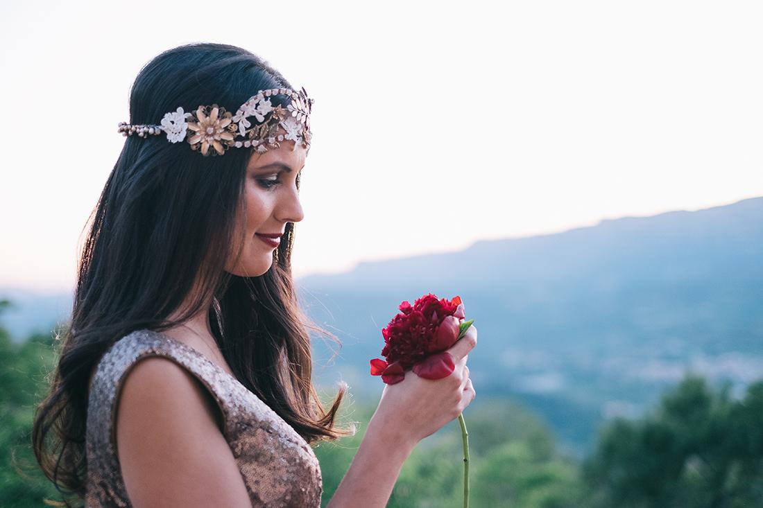 novia dorada diferente original