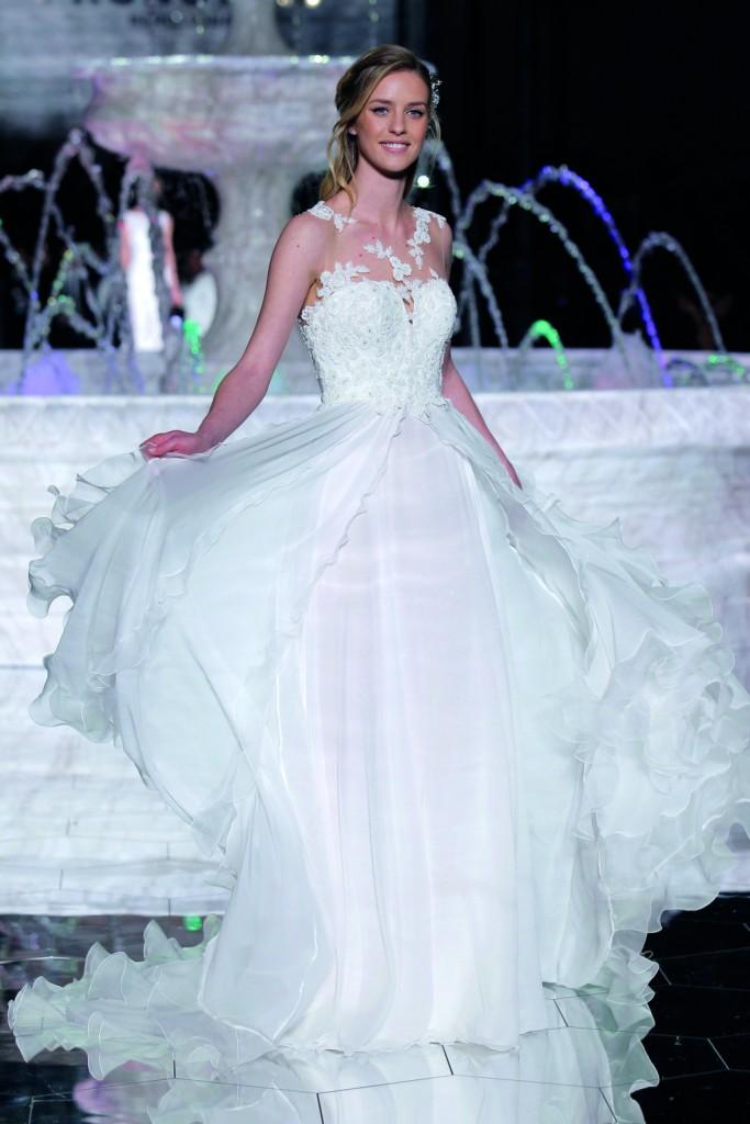 vestidos novia pronovias 2018 wish PRONOVIAS FASHION SHOW_Risal