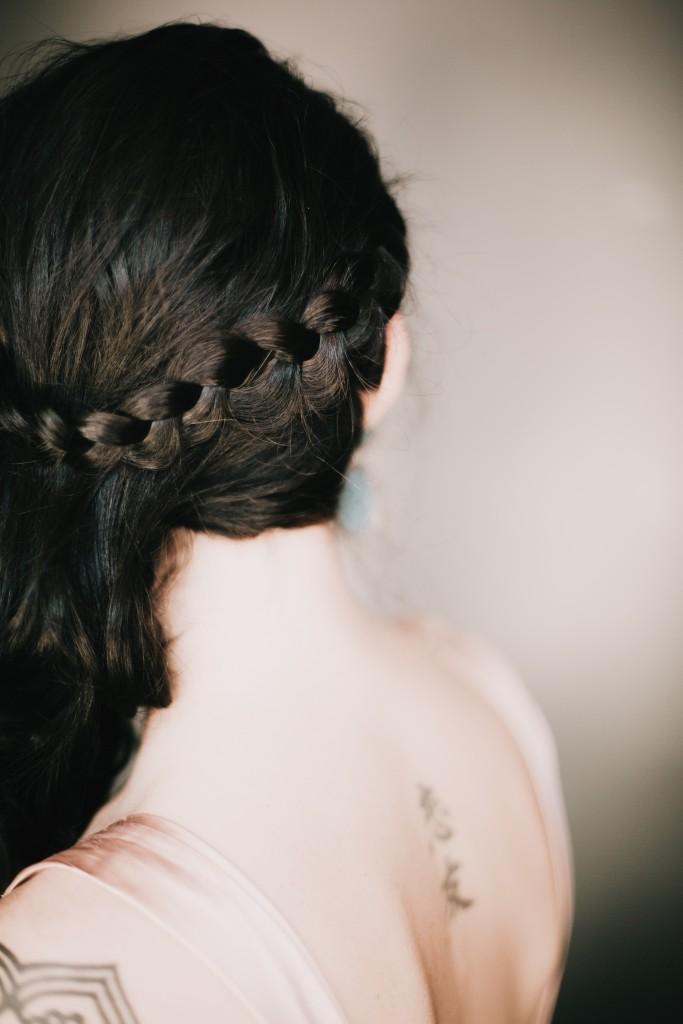 peinado trenza novia oui novias