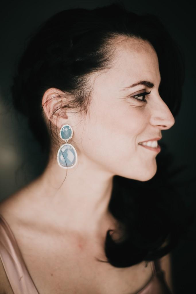 pendientes invitada cuarzo azul