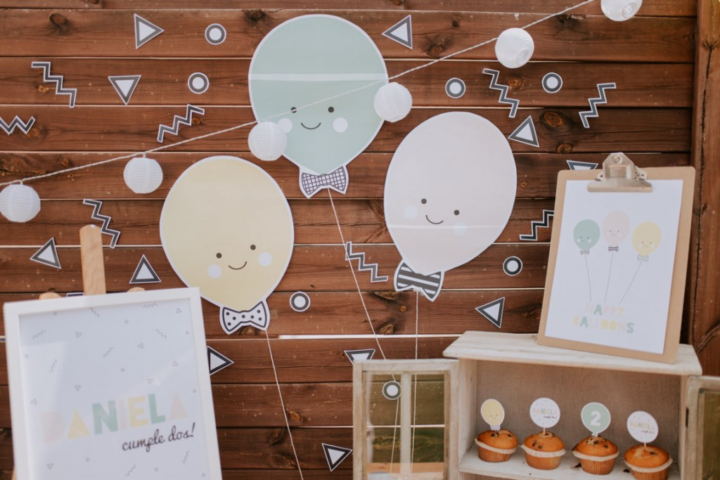 printable happy balloons