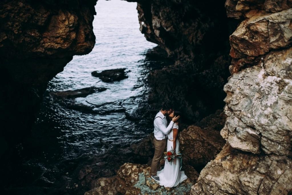 waves in love novia boho Waves in Love (1)