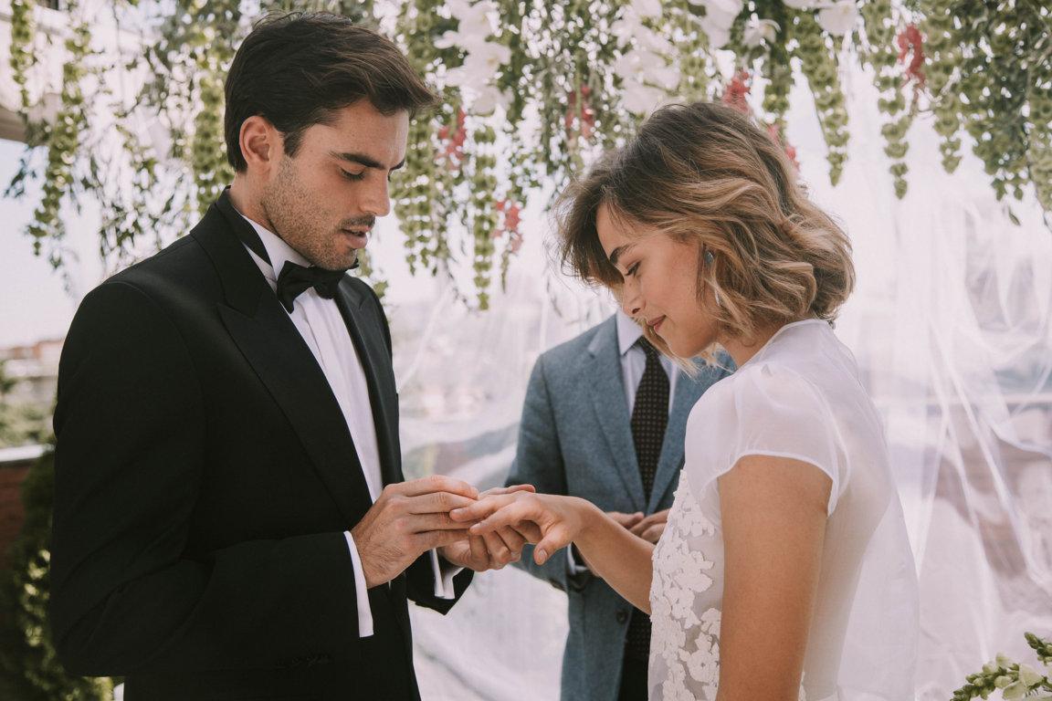 Una novia urbana y cosmopolita quiero una boda perfecta - Fotos boda civil ...