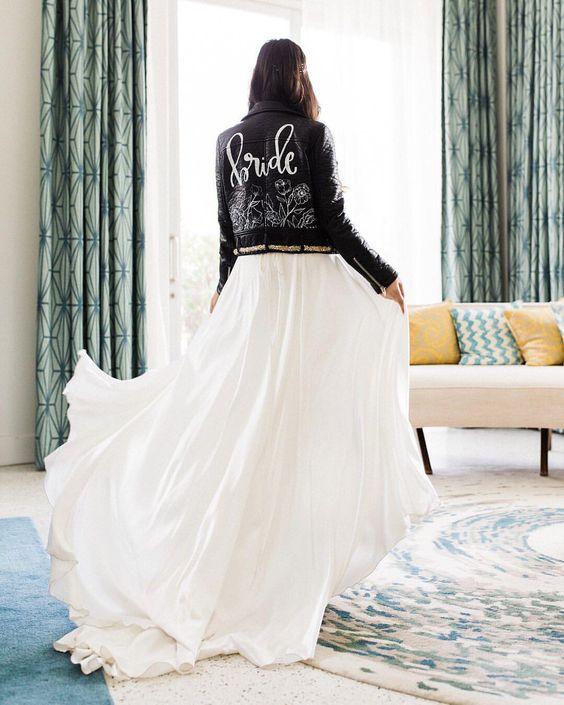bride jaquet novia
