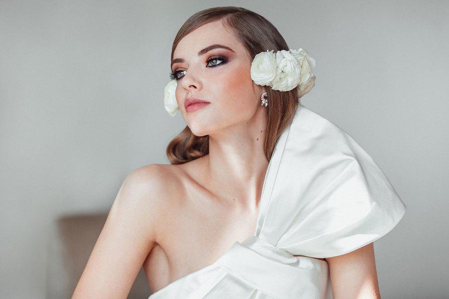 tendencias maquillaje peluqueria oui novias 2018