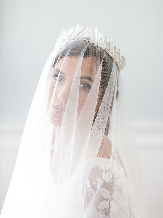 coronas novias bridal crown