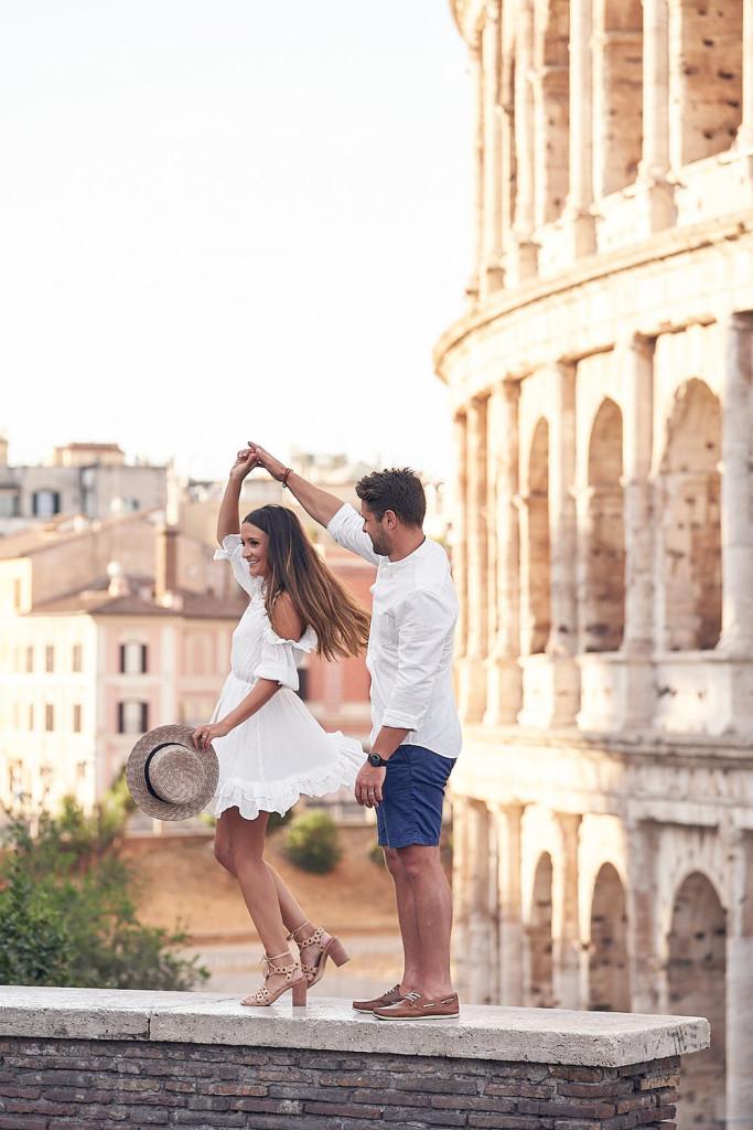 viaje de novios roma