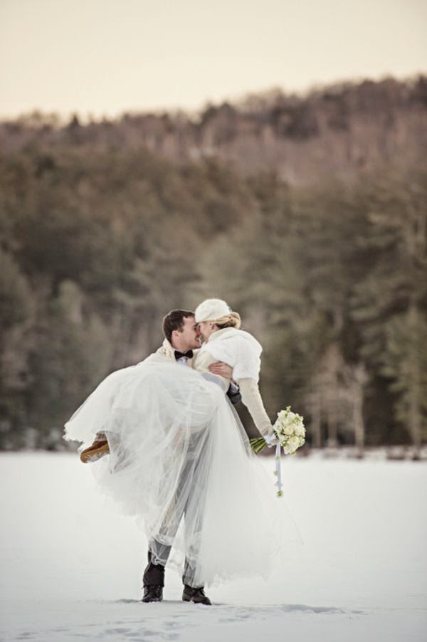 boda bajo la nieve